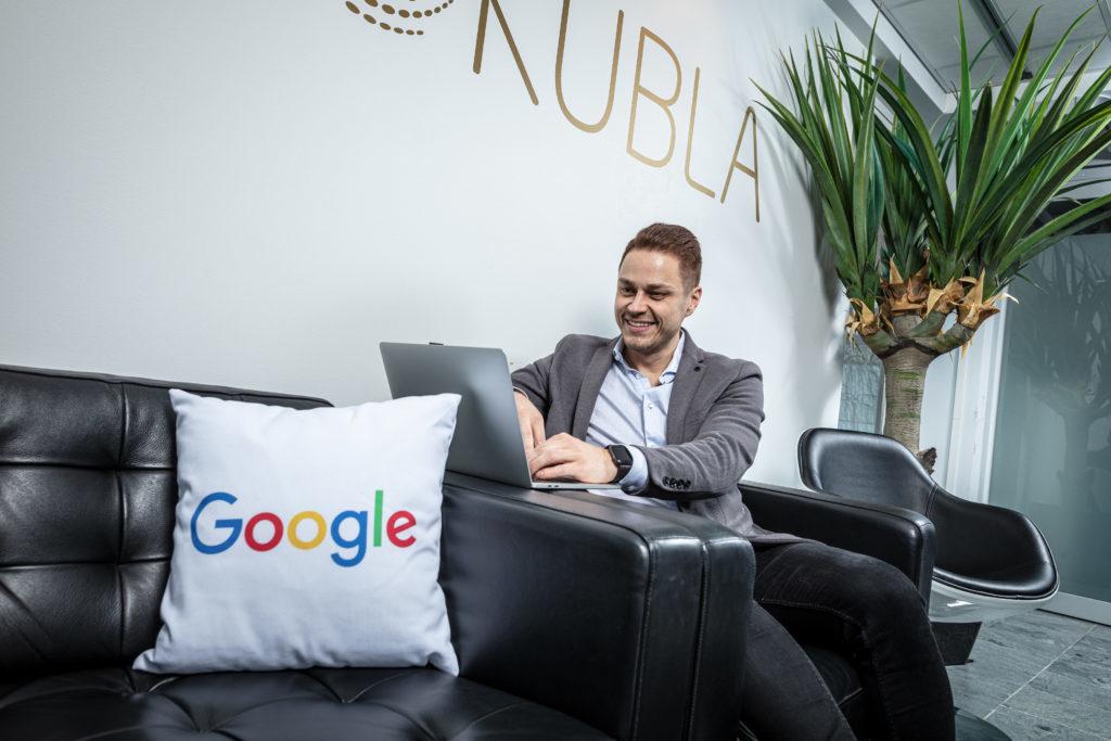 Google-mainontaa Helsingissä