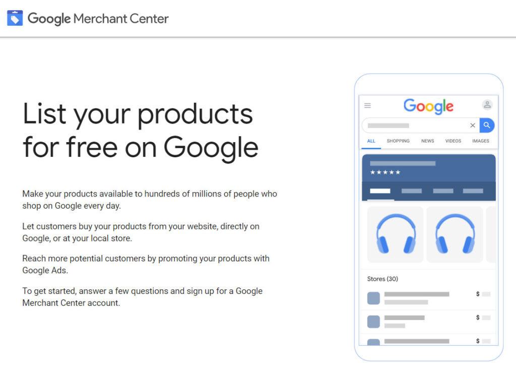 Google Merchant Center eli Kauppiaskeskus