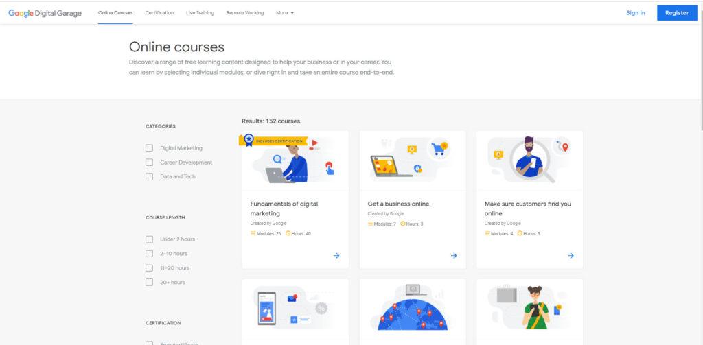 Google Ads koulutus verkossa