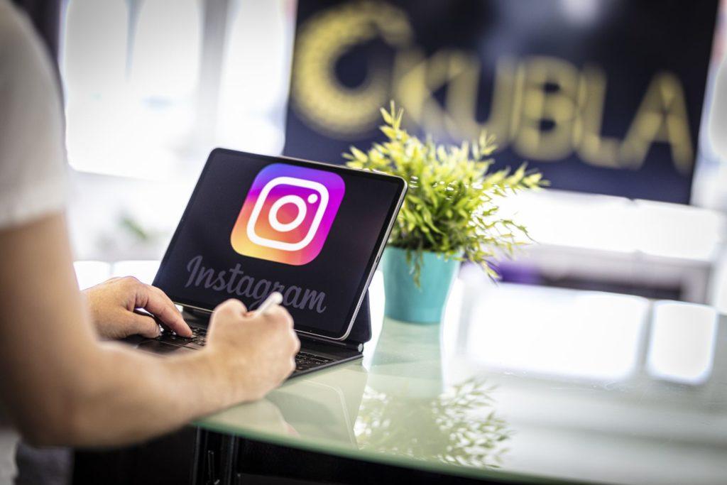 Instagram yritystili