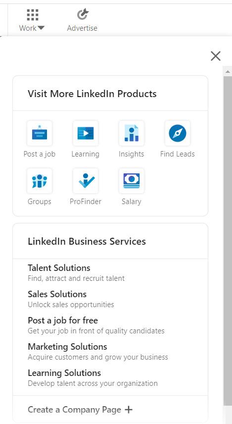 LinkedIn Mainostili luominen