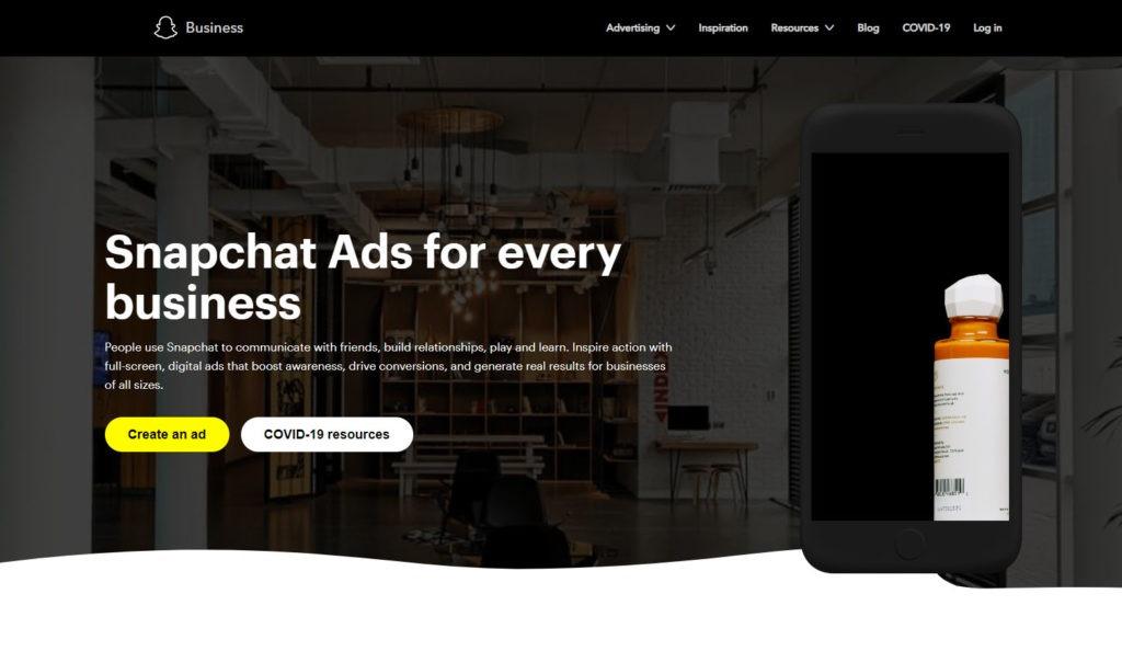 Snapchat-markkinointi